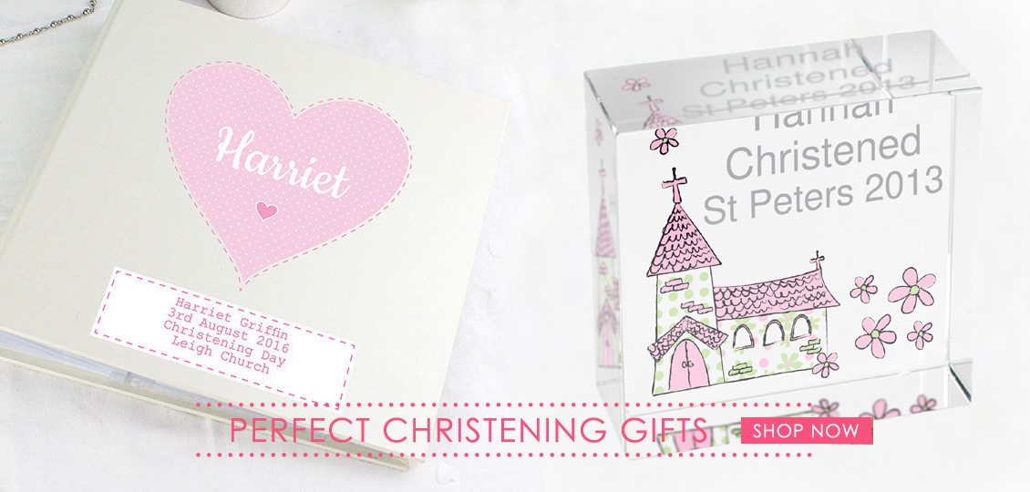 Personalised Christening Gifts and Jewellery