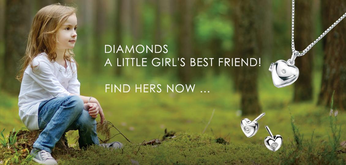 D for Diamond jewellery for children