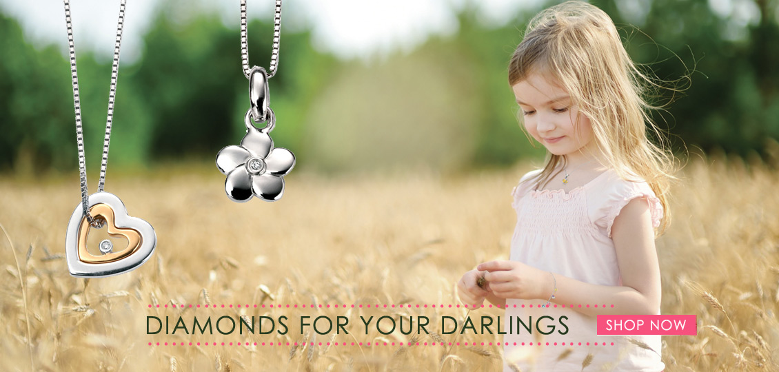 D for Diamond Childrens Jewellery