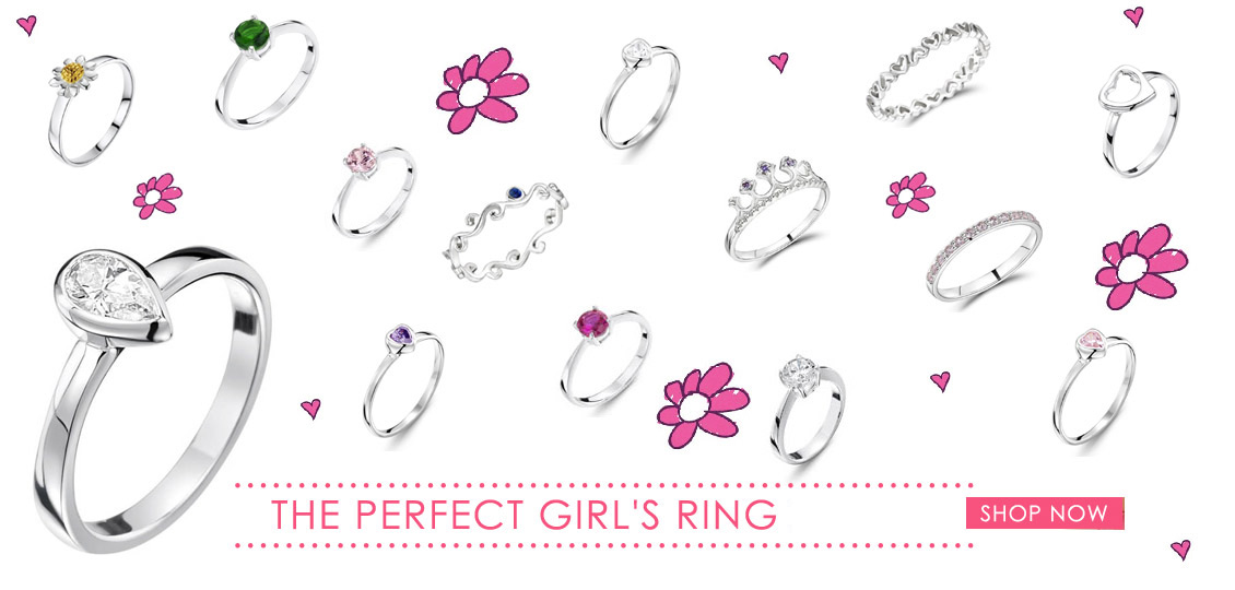 Girls Rings in Small Sizes