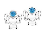 Jo For Girls December Birthstone Stud Earrings