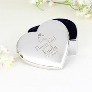 Personalised trinket box for Flowergirl