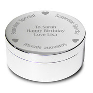 Personalised Someone Special Round Trinket