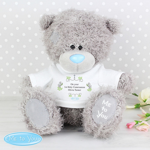 Personalised 1st holy communion teddy bear