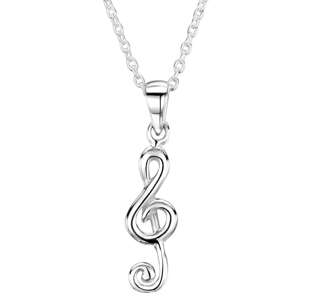 charmed silver set musical com lily music product note by jewellery notonthehighstreet pendant lilycharmed original