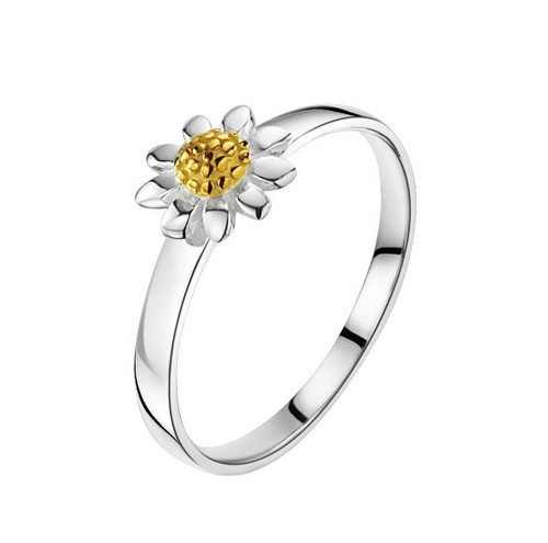 Jo For GirlsGold Daisy Silver Ring (JR120)