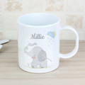 Personalised Childrens Plastic Mug - elephant