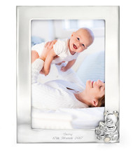 D for Diamond Silver Plated PhotoFrame