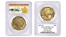 2011-W $50 Proof Gold Buffalo PR70 PCGS Thomas Cleveland Art Deco