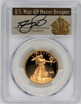 1995-W $25 Gold Eagle PR70 PCGS Thomas Cleveland Art Deco