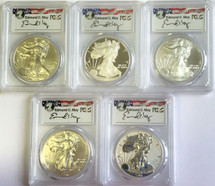 2011 25th Anniversary 70 Set Moy Signed PCGS **Population Just 22**