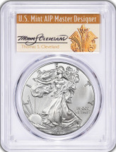 2017 Silver Eagle NEW Master Designer THOMAS CLEVELAND signed MS70 FDOI 1 of 1000