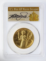 2015-W $100 Liberty High Relief PCGS MS70 T.Cleveland