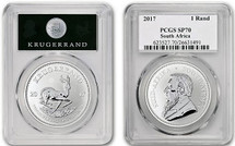 2017 South Africa Krugerrand SP70 PCGS 50th Anniversary