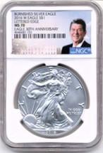 2016 ASE 3-Coin 70 Set NGC 30th Anniversary Reagan