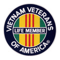 Vietnam LifeMember Patch