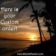 Custom order for Marco!