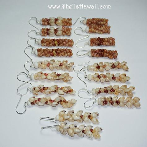 Set of 9 pairs earrings