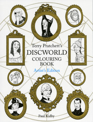 Discworld colouring book, artist's edition