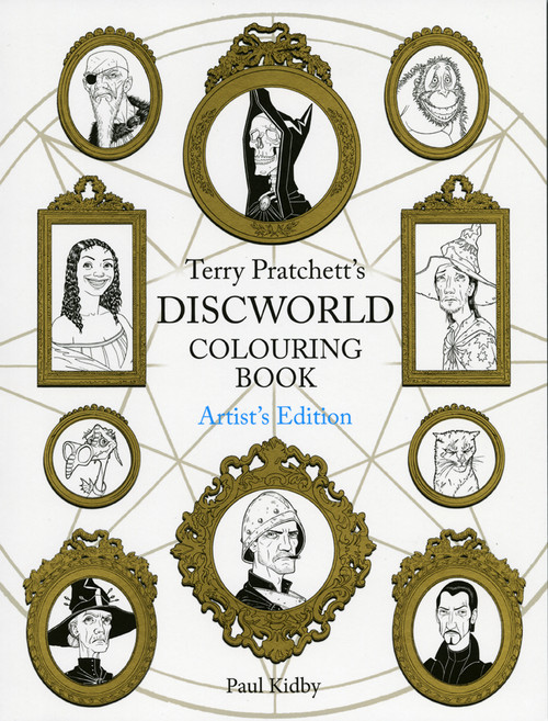 Discworld colouring book, artist's edition