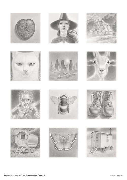Drawings from the Sheherd's Crown