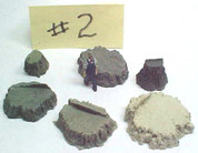 Stumps bag Assortment #2 cast resin All Scales see chart