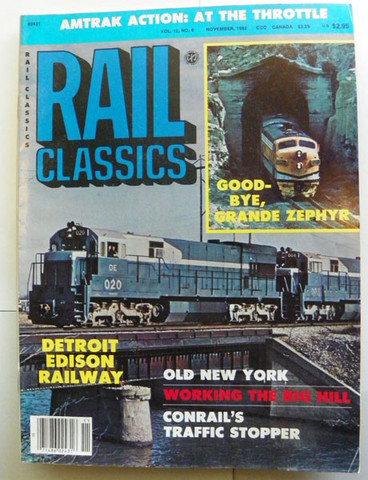 Rail Classics Magazine November 1983