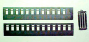 HOn3 MRGS NG Pair (2) Passenger car sides 12&13 window