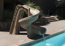 Helix Pool Slide (one only in sandstone at this price)