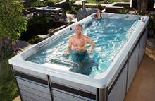 Endless Pools E500 Swim Spa - 4.58m x 2.26m x 1.47mH/1.32mH