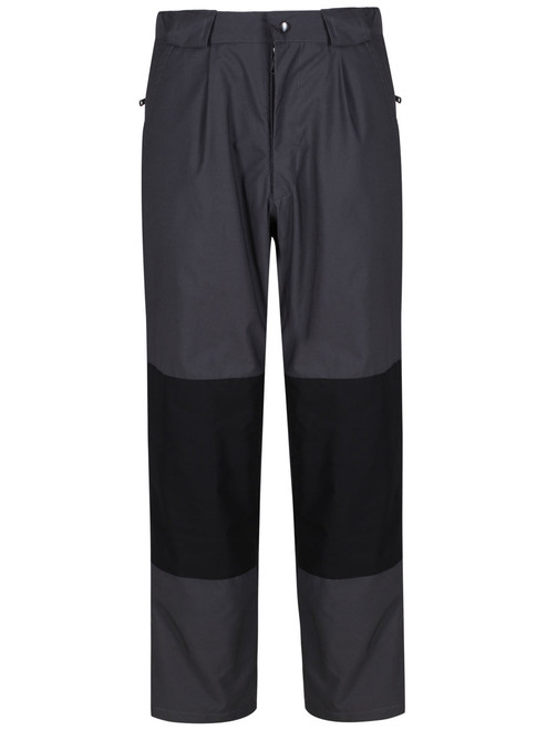 Fully waterproof Cotton Analogy® trousers comprising a Ventile® outer and Nikwax Analogy® Pump Liner inner giving excellent perspiration transportation. Colour: Charcoal/Black.