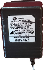 9 Volt Transformer 120V AC to 9V AC - Required for Power Factor
