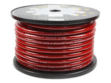 Hollywood CCA 4 AWG POWER CABLE - RED