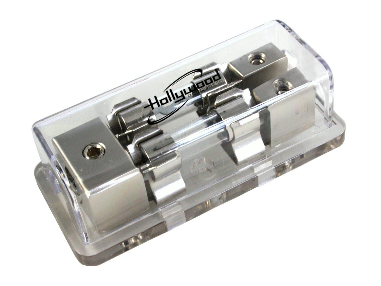 hollywood double agu fuse holder
