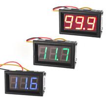 Audio Boffins 3-Wire DC Volt Meter - Red / Green / Blue