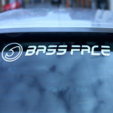 BASS FACE BFS.1 Large Window Sticker - Main View