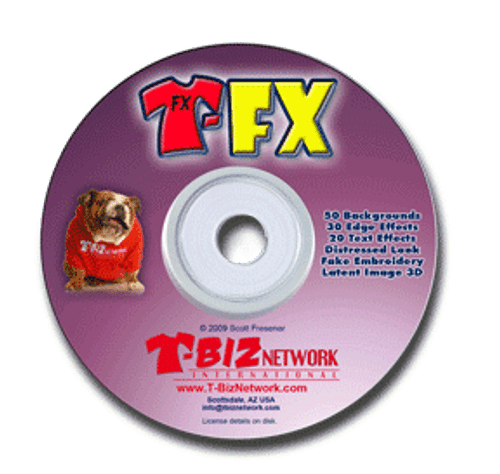 T-FX Special Effects Plugin for Photoshop - Download Version