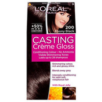 L'Oreal Paris Casting Creme Gloss 200 Ebony Black