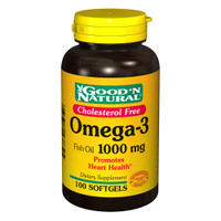 Good N Natural Omega 3 Fish Oil 1000 MG (100 Softgels)