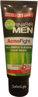 Garnier Men Acno Fight 6 In 1 Pimple Clearing Face Wash