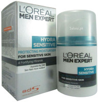 L'Oreal Paris Men Expert Hydra Sensitive Protecting Moisturiser Front