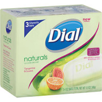 Dial Glycerin Tangerine & Guava Bar Soap (Pack of 3)