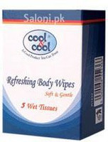 Cool & Cool Refreshing Body Wipes 5 Wet Tissues