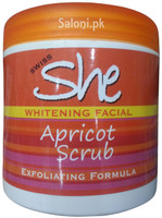 Swiss She Whitening Facial Apricot Scrub Front