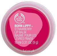 The Body Shop Born Lippy Strawberry Lip Balm