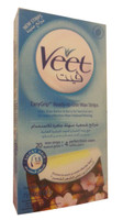 Veet Wax Strips With EasyGrip For Normal To Dry Skin (Front)