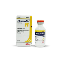 Humulin R Regular Insulin Human Injection (RDNA-angin) Natural