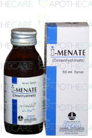 I-Menate (Dimenhydrinate) Syrup 60 ML
