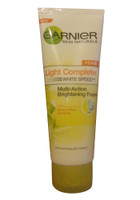 Garnier Skin Naturals Light Complete Multi-Action Brightening Foam (Front)