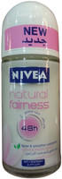 New Nivea Natural Fairness 48h Roll-On Deodorant (Front)